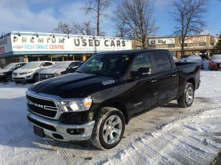 Used 2020 RAM 1500 Big Horn 4x4 Crew Cab 5'7  Box for sale in Ottawa, ON