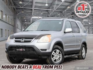 Used 2004 Honda CR-V EX-L for sale in Mississauga, ON
