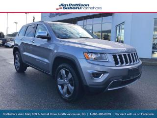 Used 2016 Jeep Grand Cherokee Limited for sale in North Vancouver, BC