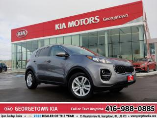 Used 2019 Kia Sportage LX AWD| 1 OWNER| ACCIDENT FREE| CLN CARFX | BU CAM for sale in Georgetown, ON
