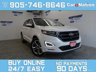 Used 2018 Ford Edge SPORT | AWD | PANO ROOF | NAV | LEATHER/SUEDE for sale in Brantford, ON