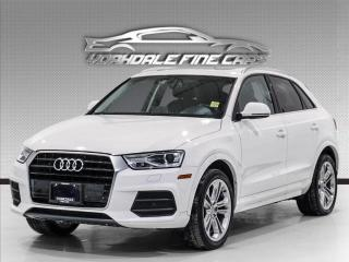 Used 2017 Audi Q3 2.0T, navigation, panoramic roof, no accidents for sale in Concord, ON