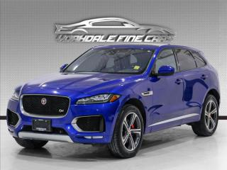 Used 2018 Jaguar F-PACE S AWD, Navigation, camera, panoramic roof, loaded for sale in Concord, ON