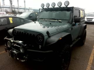 Used 2015 Jeep Wrangler 4WD Sport Navigation, Lifted, Upgraded Wheels & Lights for sale in Concord, ON
