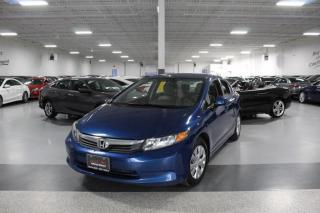 Used 2012 Honda Civic LX NO ACCIDENTS I POWER OPTIONS I REMOTE STARTER I CRUISE for sale in Mississauga, ON