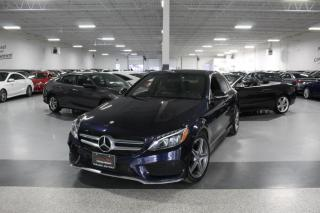 Used 2015 Mercedes-Benz C-Class C300 4MATIC I AMG I NAVIGATION I PANOROOF I REAR CAM I BT for sale in Mississauga, ON