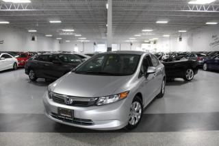Used 2012 Honda Civic LX NO ACCIDENTS I POWER OPTIONS I KEYLESS ENTRY I BLUETOOTH for sale in Mississauga, ON