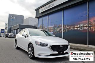 Used 2018 Mazda MAZDA6 GT-Extremely low mileage! fully loaded sedan! for sale in Vancouver, BC