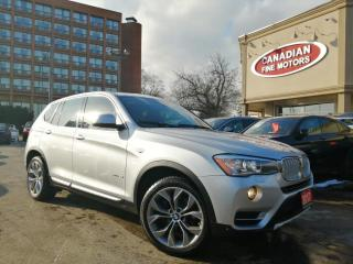 Used 2017 BMW X3 NAVI | CAM | PANO ROOF | 4 NEW SNOW TIRES* | AWD | for sale in Scarborough, ON