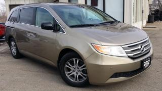 Used 2012 Honda Odyssey EX-L W/RES - LEATHER! BACK-UP CAM! DVD! 8 PASS! for sale in Kitchener, ON