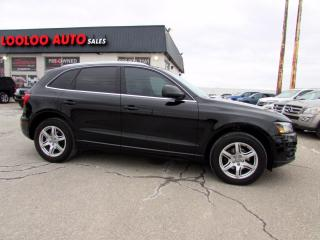 Used 2012 Audi Q5 2.0T Quattro Premium AWD Leather Bluetooth Certified for sale in Milton, ON