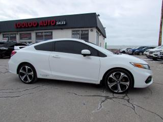Used 2014 Honda Civic Si Coupe 6-Speed Manual Navi Camera Certified for sale in Milton, ON
