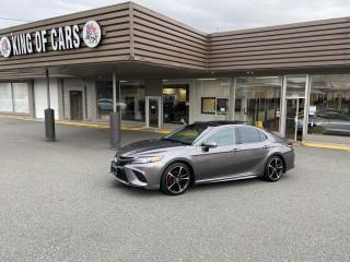 Used 2018 Toyota Camry XSE WITH AUTONOMOUS BRAKING for sale in Langley, BC
