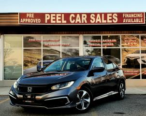 Used 2019 Honda Civic LX|TEXT.US.647.678.7778| HEATED SEATS| REARVIEW| for sale in Mississauga, ON