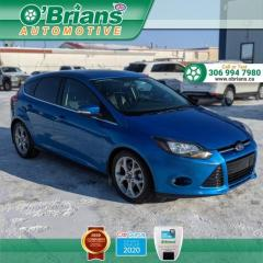 Used 2013 Ford Focus Titanium - Accident Free! w/Leather, Command Start, Backup Camera, Navigation for sale in Saskatoon, SK