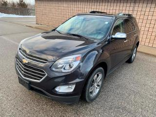 Used 2016 Chevrolet Equinox LTZ | AWD | BACKUP CAM | LEATHER | NAV | for sale in Barrie, ON