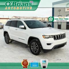 Used 2019 Jeep Grand Cherokee Limited - Accident Free! w/x4x4, Command Start, Leather, Loaded! for sale in Saskatoon, SK
