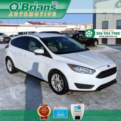 Used 2017 Ford Focus SE w/Leather, Heated Seats, Backup Camera for sale in Saskatoon, SK