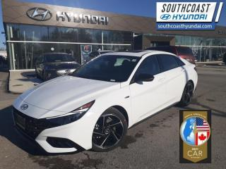 New 2021 Hyundai Elantra N-Line DCT  - Leather Seats - $176 B/W for sale in Simcoe, ON