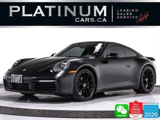 Used 2020 Porsche 911 Carrera 4, AWD, PDK, SPORTS CHRONO, HEATED, CAM for sale in Toronto, ON