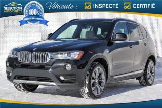 Used 2017 BMW X3 xDrive28i 4 portes TI for sale in Ste-Rose, QC