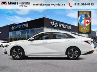 New 2021 Hyundai Elantra Preferred w/Sun & Tech Package IVT  - $170 B/W for sale in Kanata, ON