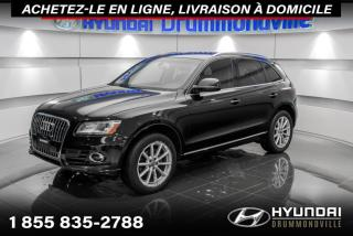 Used 2017 Audi Q5 TECHNIK + GARANTIE + NAVI + TOIT PANO + for sale in Drummondville, QC