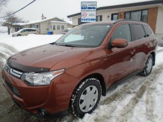 Used 2014 Mitsubishi Outlander GT for sale in Ancienne Lorette, QC