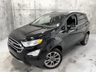 Used 2019 Ford EcoSport Titanium 4WD Cuir Apple Car Toit Ouvrant Volant Chauffant for sale in St-Nicolas, QC