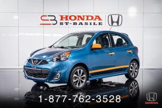 Used 2016 Nissan Micra SR + A/C + CRUISE + MAGS + WOW! for sale in St-Basile-le-Grand, QC