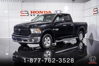 Used 2014 RAM 1500 OUTDOORSMAN + 5.7L + 4X4 + MAGS + WOW! for sale in St-Basile-le-Grand, QC