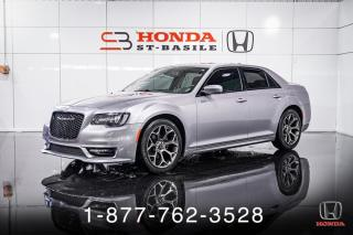 Used 2018 Chrysler 300 S + CUIR + TOIT + NAVI + MAGS + WOW! for sale in St-Basile-le-Grand, QC