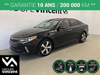 Used 2016 Kia Optima SX TURBO ** GARANTIE 10 ANS ** Berline confortable et logeable! for sale in Shawinigan, QC