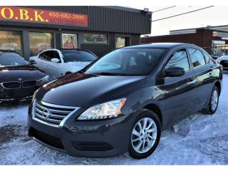Used 2015 Nissan Sentra CAMRA DE RECUL-BLUETOOTH-SIEGES CHAUFF-MANU 6 VTS for sale in Laval, QC