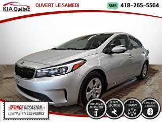 Used 2018 Kia Forte LX* AUTOMATIQUE* CERTIFE 2.79 %* A/C* for sale in Québec, QC