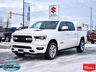 Used 2019 RAM 1500 Sport Crew Cab 4x4 ~Nav ~Cam ~Leather ~Pano Roof for sale in Barrie, ON