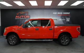 Used 2012 Ford F-150 XLT 4X4 V6 3.5L ECOBOOST SUPER CREW MAGS BLUETOOTH for sale in Lévis, QC