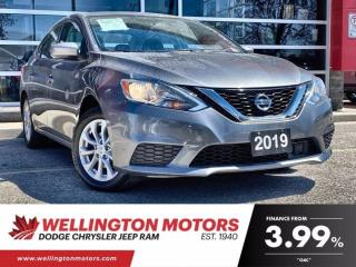Used 2019 Nissan Sentra SV --> New Front Tires & New Brakes & Rotors ... for sale in Guelph, ON