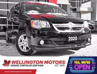 Used 2020 Dodge Grand Caravan Crew Plus - Rear DVD - NAVIGATION !! for sale in Guelph, ON