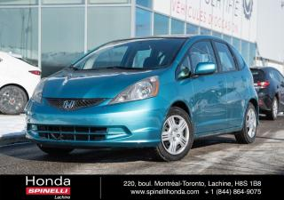 Used 2013 Honda Fit LX AUTO TRES BAS KM AUTO AC VITRES CRUISE++ for sale in Lachine, QC