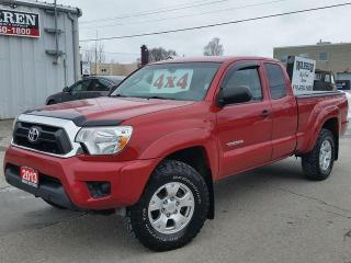 Used 2013 Toyota Tacoma 4x4 6spd V6 SR5 for sale in Cambridge, ON