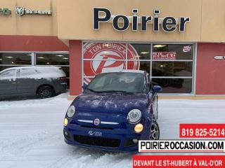 Used 2012 Fiat 500 Sport for sale in Val-D'or, QC
