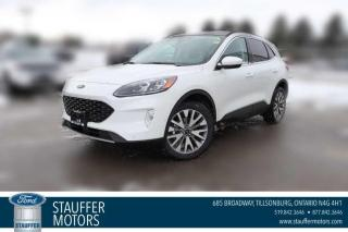 New 2021 Ford Escape Titanium Hybrid for sale in Tillsonburg, ON