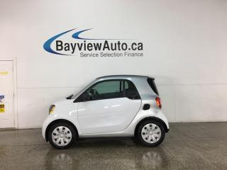 Used 2016 Smart fortwo prime - HTD SEATS! BLUETOOTH! 36,000KMS! for sale in Belleville, ON