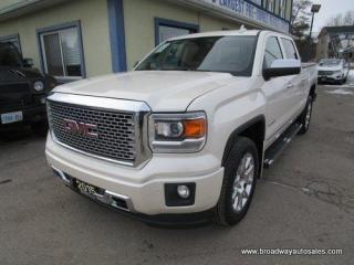 Used 2015 GMC Sierra 1500 LOADED DENALI MODEL 5 PASSENGER 5.3L - VORTEC.. 4X4.. CREW-CAB.. SHORTY.. NAVIGATION.. LEATHER.. HEATED/AC SEATS.. POWER PEDALS & MIRRORS.. BOSE.. for sale in Bradford, ON