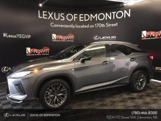 New 2021 Lexus RX 350 F Sport Series 3 for sale in Edmonton, AB
