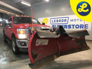 Used 2014 Ford F-250 4WD SuperCab DIESEL * The Boss V-Blade Hydraulic Plow * Boss Smart Touch Controller * LED Lights W/ Snow Shield *  Weather Tech Floor Mats * for sale in Cambridge, ON