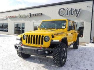 New 2021 Jeep Wrangler Rubicon Unlimited | Loaded | LED | Tow | Steel Bmp for sale in Medicine Hat, AB