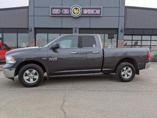 Used 2015 RAM 1500 4WD Quad Cab 140.5  SLT for sale in Thunder Bay, ON