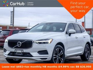 Used 2019 Volvo XC60 Momentum AWD Navigation Panoramic Sunroof Backup camera Bluetooth Leather Alloy Rims for sale in Bolton, ON